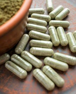 Red Veined Horned Leaf Kratom Capsules