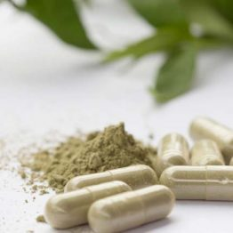 White Horned Leaf Kratom Capsules