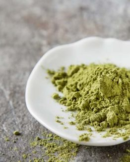 White Veined Hulu Kapaus Kratom Powder